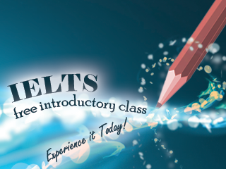 IELTS Free Introductory Class. Experience it Today!